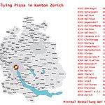 Flying Pizza in Kanton Zürich