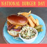Our burgers are delicious!