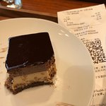 caution on the desserts....this lovely chocolate cake was 78 RMB! (US$12)