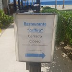 Watch out for alternating restaurant closures