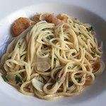 king Prawn Spaghetti