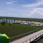 View of boats from Cocos