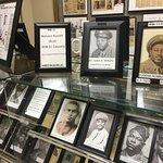 An African American room highlights the importance of their contributions both local and nationa