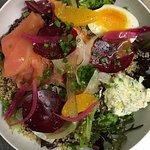 la belle salade du déjeuner