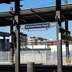King Street Station in Seattle...