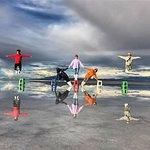 Salar de Uyuni - Efectos visuales