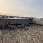 la terrazza con solarium