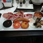 Lovely full English with home made sausage