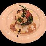 Grilled Eggplant caprese Napoleono