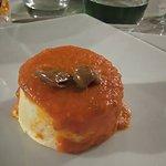 Entrée chaude : polenta