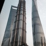 Shanghai Tower in costruzione