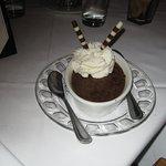 Chocolate creme burlee