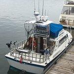 28 x 12 M.V. Blue Max Heated Cabin, Head/bathroom, Life raft, Halibut and Salmon gear
