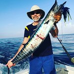 Our customer got his wahoo for dinner!