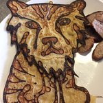 Amazing kids pancake shapes available from Chef Kate!