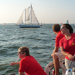 On Wednesday Nights both Schooner Woodwinds race against each.