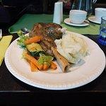 Lovely lamb shank.
