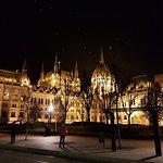 Bild på Parlamentet i Budapest