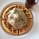 Chicken & Waffles - Voted Best Fried Chicken in Monterey!