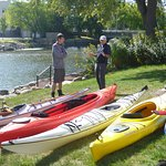 The Fox River is a popular paddling destination for kayakers.