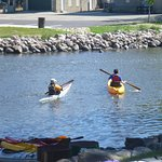 From Waterford downstream to Rochester, you will likely only see other paddlers.
