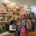 Shopping tour in Pom Pom, a quaint fashion shop in Trounce Alley, Victoria, bc