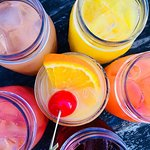 ow serving Tequila Sunrise or Vodka & Juice (Screwdriver, Greyhound, Sea Breeze, Cape Cod or Mad