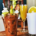 Choices, choices! Bloody Mary, Ramos Fizz, Bottomless Mimosas!