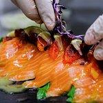 tagliata di salmone