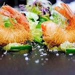 Gamberetti in tempura