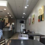 A great place to get a smoothie (snow bubble), icy, shake, or chicken snack. Popular hangout for