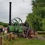 machine à vapeur - battage
