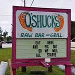 Roadside sign always has a catchy quote.