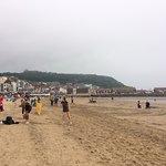 Scarborough Beach: Tides out