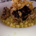 Pulled Pork and Gouda Mac n Cheese