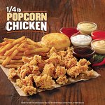 Try our new popcorn chicken