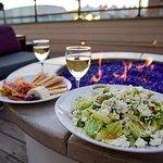 Charcuterie Plate & California Chopped Salad