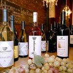 Wines on main bar