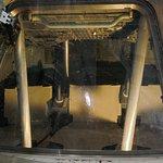 interior of mercury space capsule