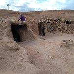 moradia de uma família de nômades