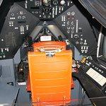 interior of SR-71 flight simulator