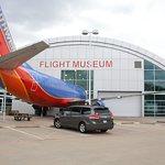 Exterior of Frontiers of Flight Museum