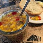 House-made corn salsa