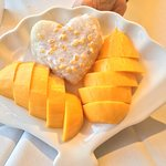 Sweet Sticky Rice (with mangoes), for 2