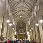 Vaulted ceiling is impressive