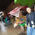 comercio em Marrakesh