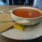Soup of the day is always good irrespective of time of year