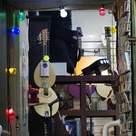 The Music shop is a fascinating place to explore full of great items to take home as presents