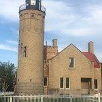 Old Mackinac Point Lighthouse ภาพถ่าย