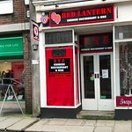 New and First Chinese Restaurant in the historic Cornwall town of Launceston. front door